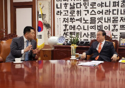 Richard Lee and ROK Speaker Hee Sang Moon
